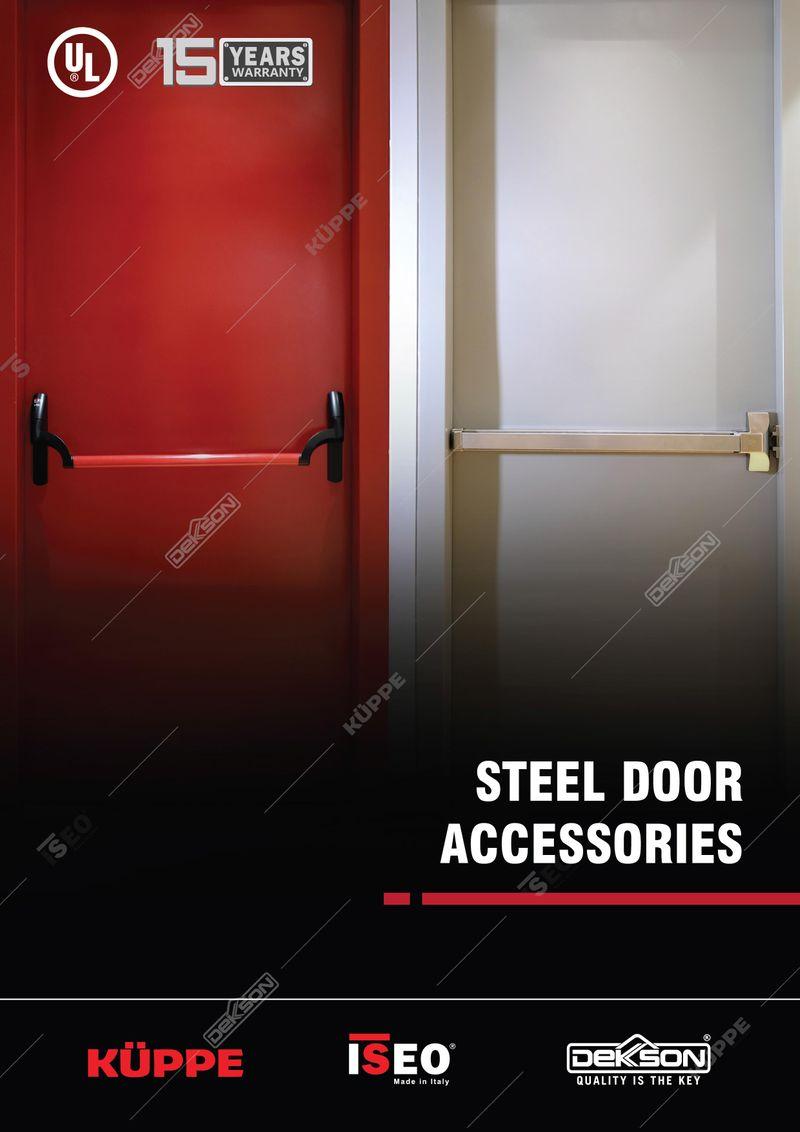 Katalog Steel Door Accesories Dekkson