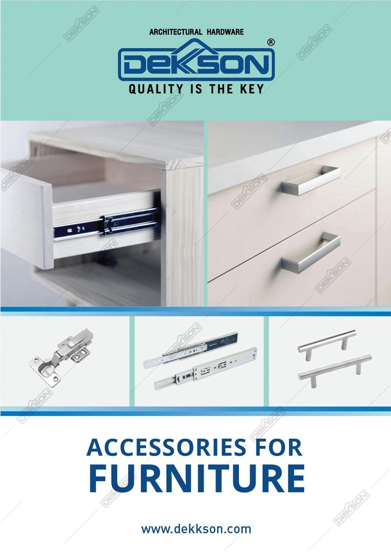 Katalog Accessories For Furniture