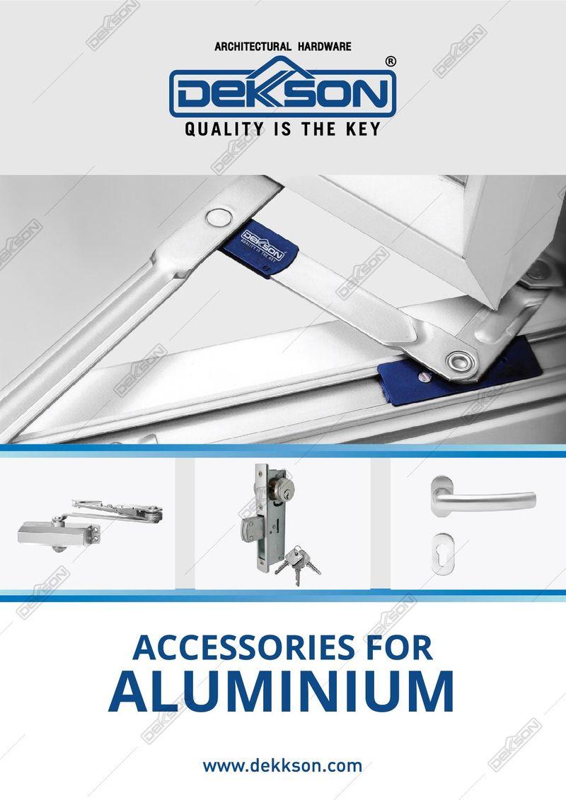 Katalog Accesories For Aluminium