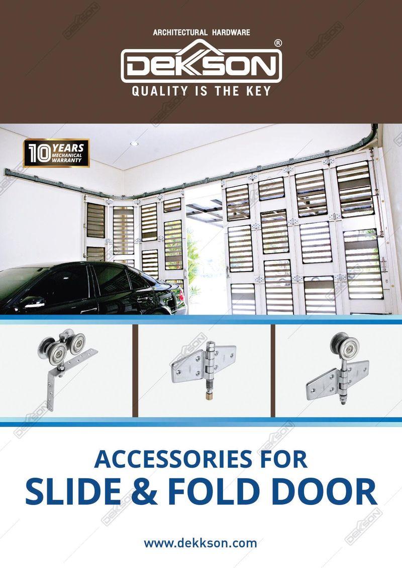Katalog Accesories For Slide & Fold Door