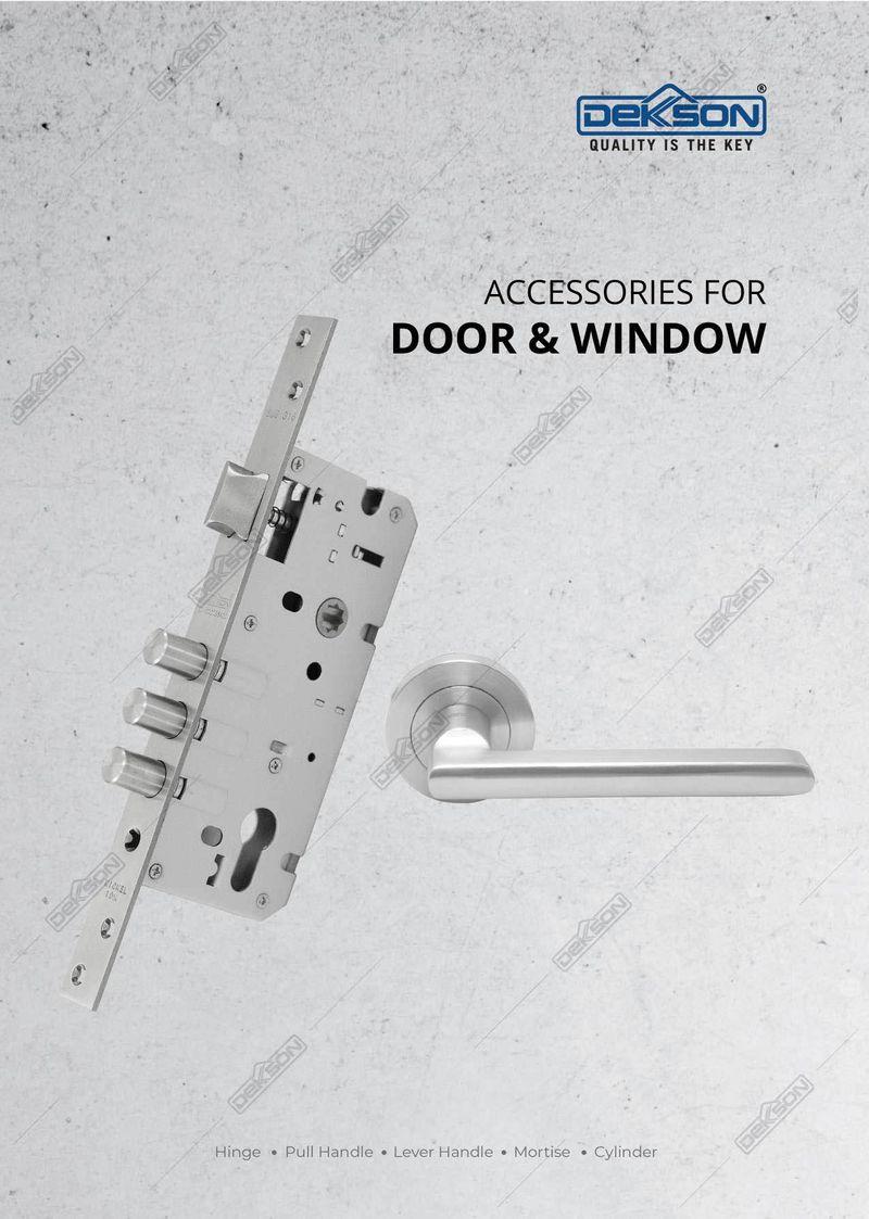 Katalog Accessories for Door And Windows - Dekkson 2021